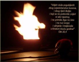 Mučenici vjere za Krista -Otk 20,4
