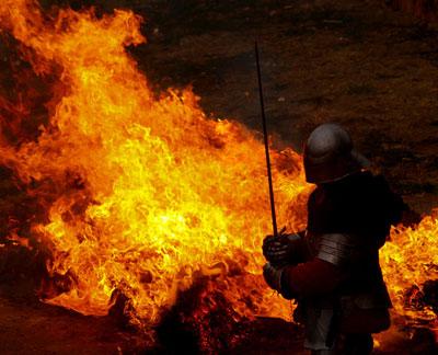 Vitez u vatri