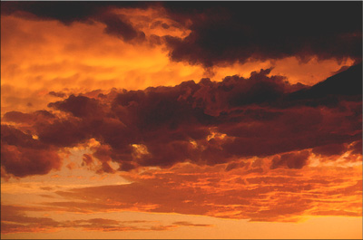 Nebo (obrada, vodene boje)