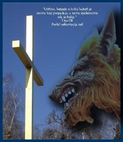 Sotona protiv Križa Kristova