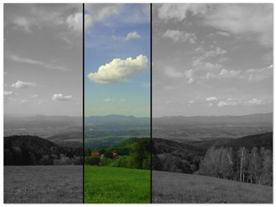 Pogled na Zagorje