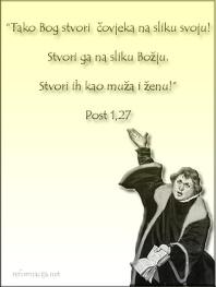 Luther upućuje na Bibliju