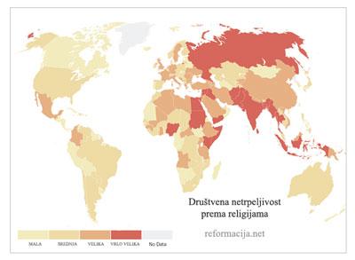 Društvena netrpeljivost prema religijama