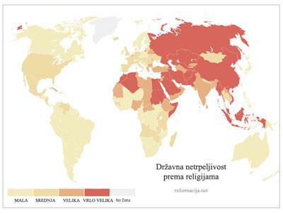 Državna netrpeljivost prema religijama